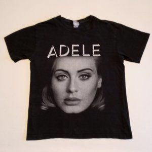 Adele live 2016 Tour black Tee